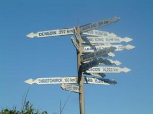 Geen van de wegen leidt naar Rome in Nieuw Zeeland