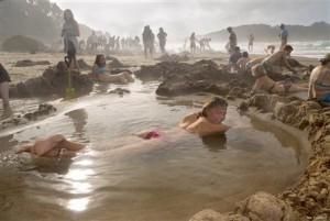Hotwater beach nieuw zeeland