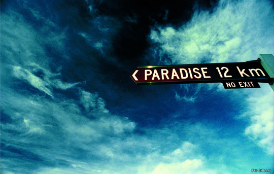 Paradijs om de hoek