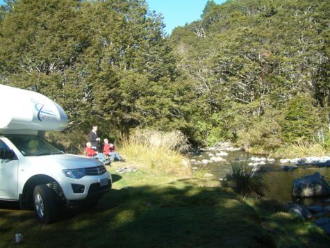 DOC camping Nieuw Zeeland
